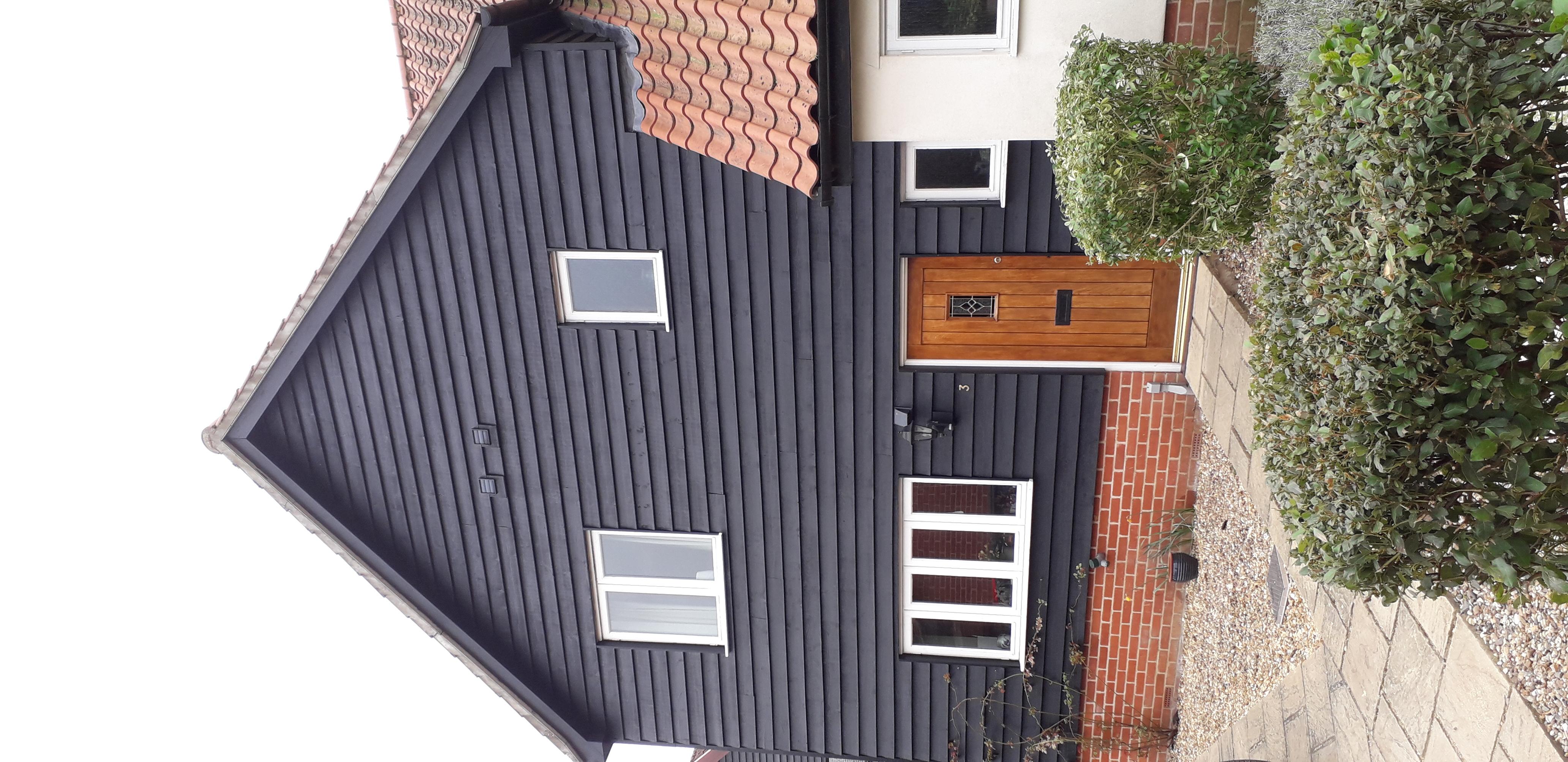 Painting exterior bedec paint