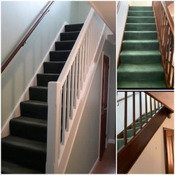 Hall, stairs and landing repaint