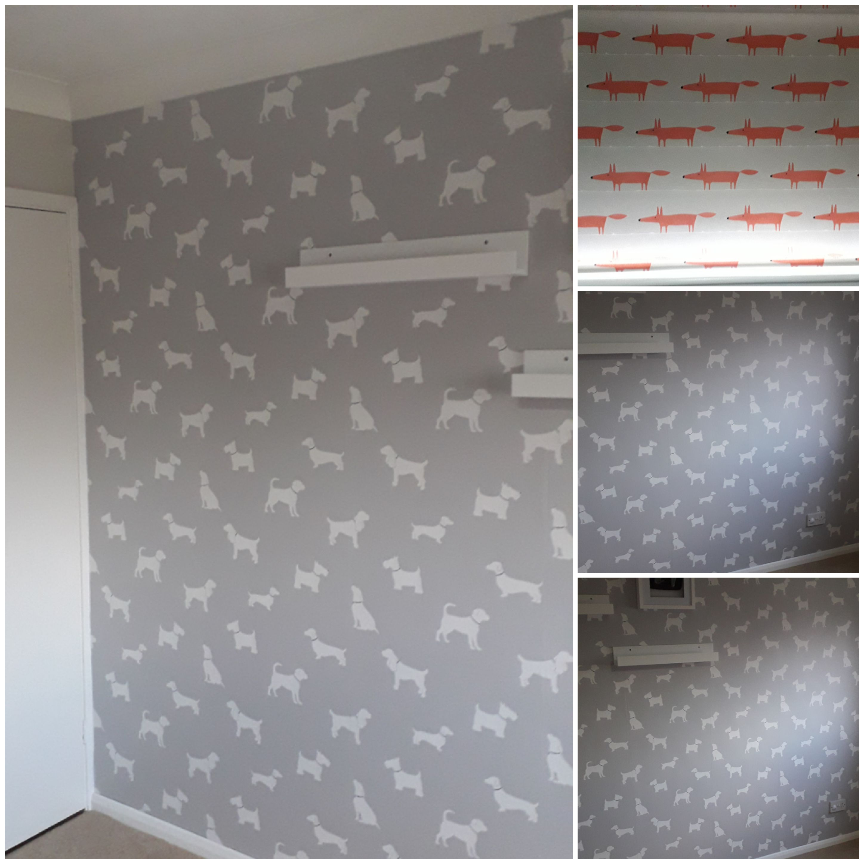 Wallpaper painting and decorating
