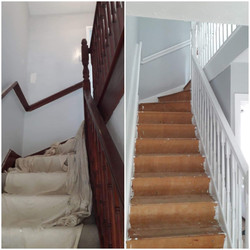 Hall, Staircase and landing