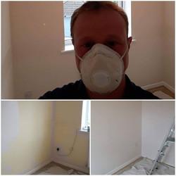 Bedroom re paint