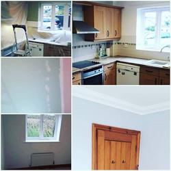 Kitchen and bedroom re paint _All walls
