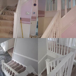 Hallway, staircase and landing transform