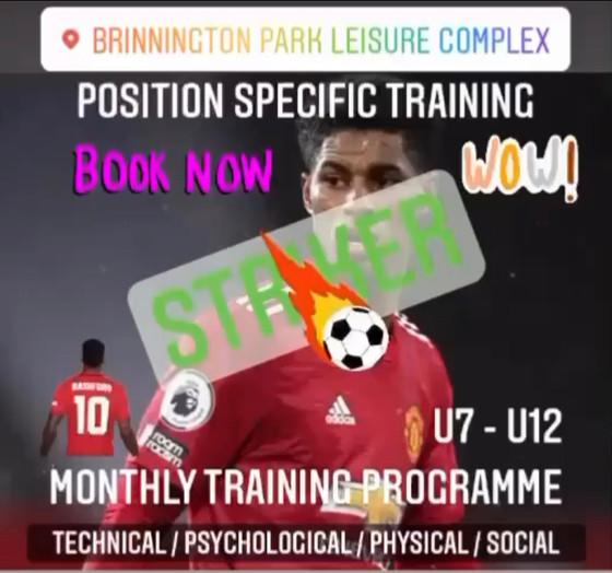Position specific training - Striker