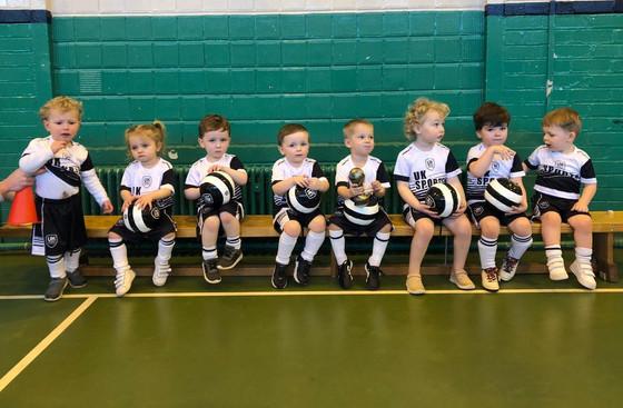 Pre school soccer - Offerton