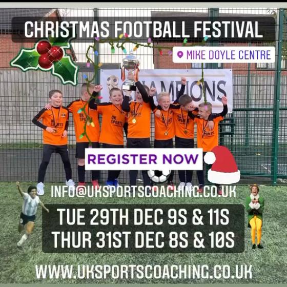 CHRISTMAS FOOTBALL FESTIVAL