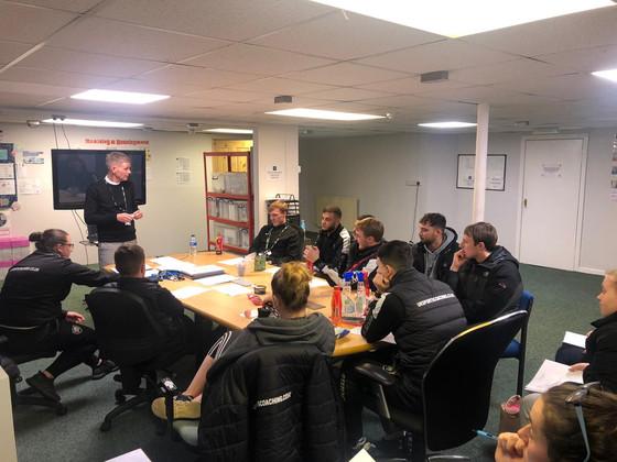 Staff training & development