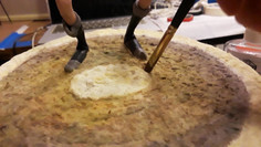 WIP Making Rug