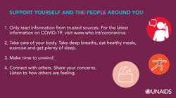 UNAIDS COVID-19_Support Yourself and Peo