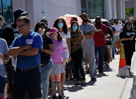 Long Lines at Few Polling Spots Clog Nevada Primary Voting