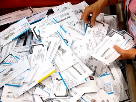 Vote-by-mail delivers an array of problems