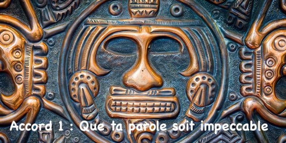 Soin chamanique - 1er accord toltèque : la parole