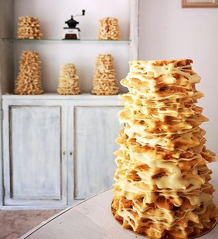 Šakotis. Baumkuchen. Mallorca. Cake