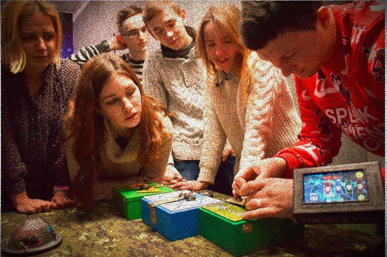 Escape games and quizzes stimulate team creativity boosting team productivity
