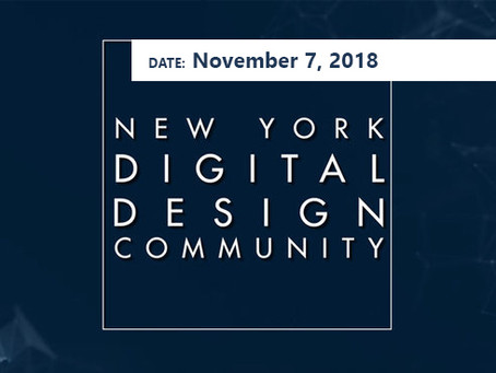 Fall '18 Event - November 7th: NYDDC