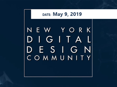 Spring '19 Event - May 9th: NYDDC
