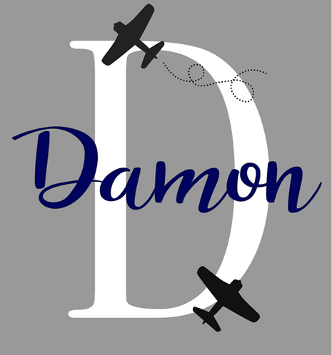 Boy Monogram Sign