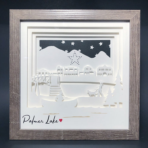 Palmer Lake Shadowbox