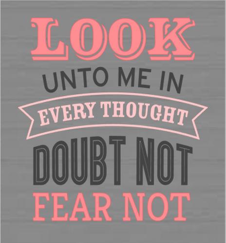 Look Unto Me