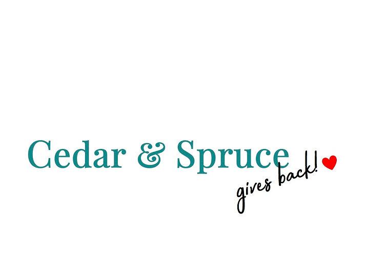 Cedar & Spruce gives back!.jpg