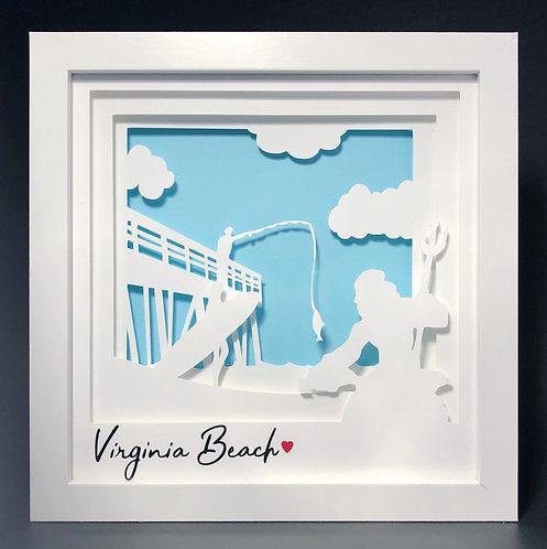 Virginia Beach Shadowbox