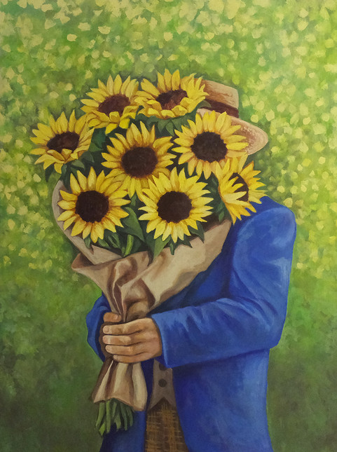 Mr. Sunflower, the Secret Admirer