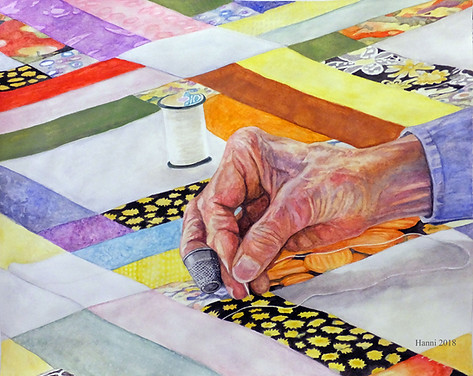 Quilting Hand