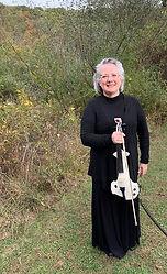 Virgiia Cox, Violinist, 5 String Violin