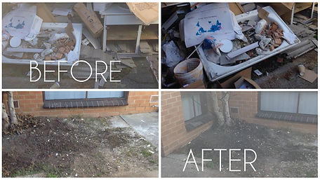 building rubbish and junk removal