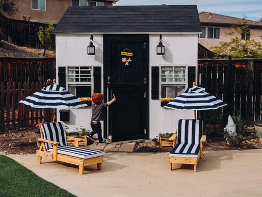 Luxury Children's Playhouses Making Backyards a Stay Home Haven