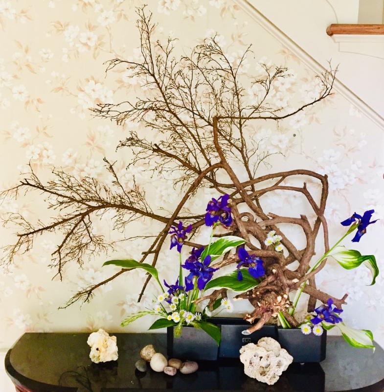 Living through flowers
