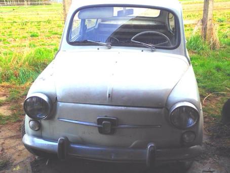 Van Volkswagen T2 naar Fiat 600...