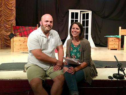 Jenna and Matthew Dabbs, founders of Far, Far Away Theatre
