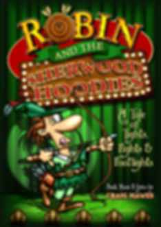 Robin and the Sherwood Hoodies Leaflet