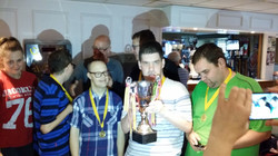 the winners, well done lads