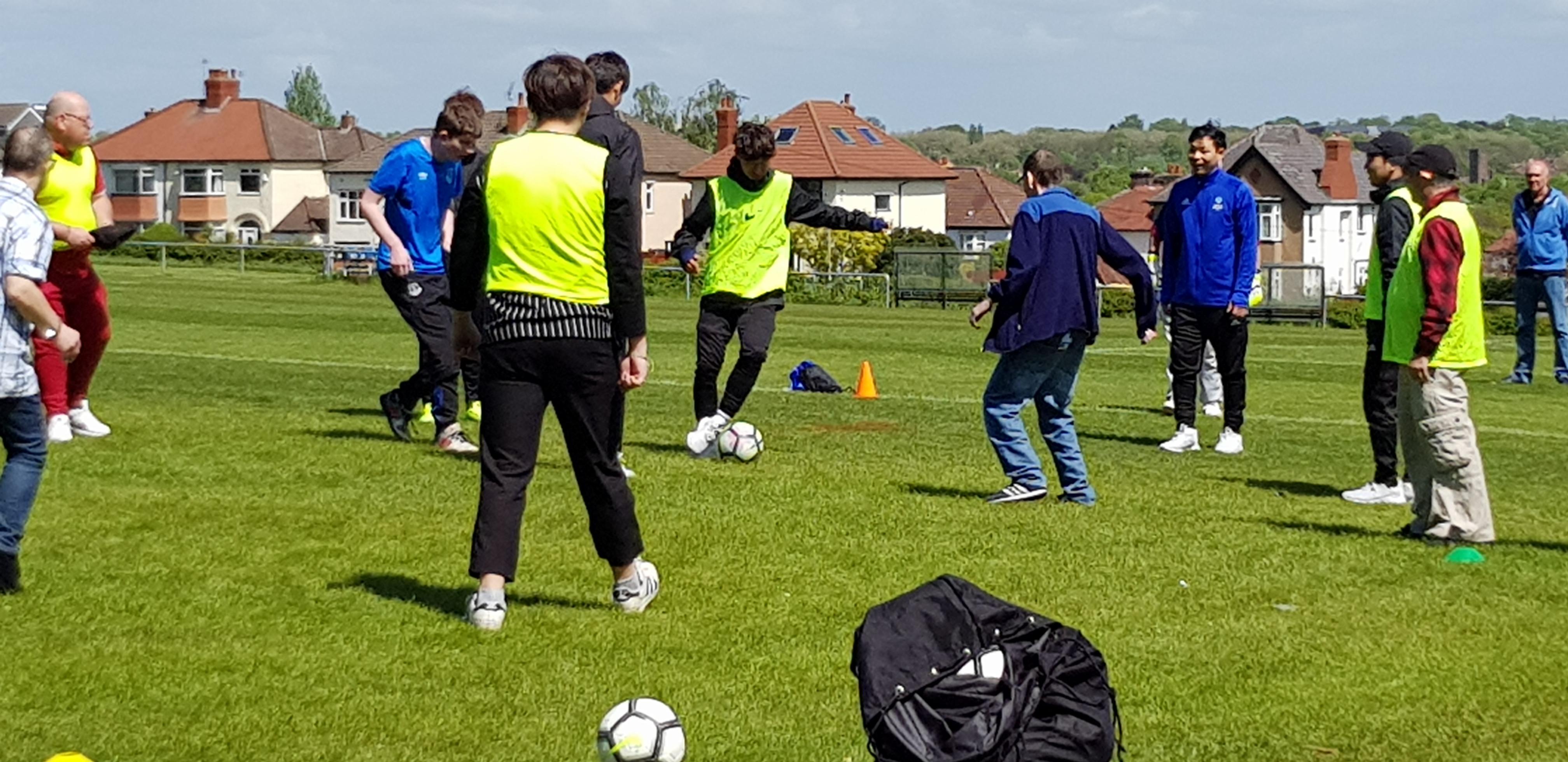 training wit korean youth team