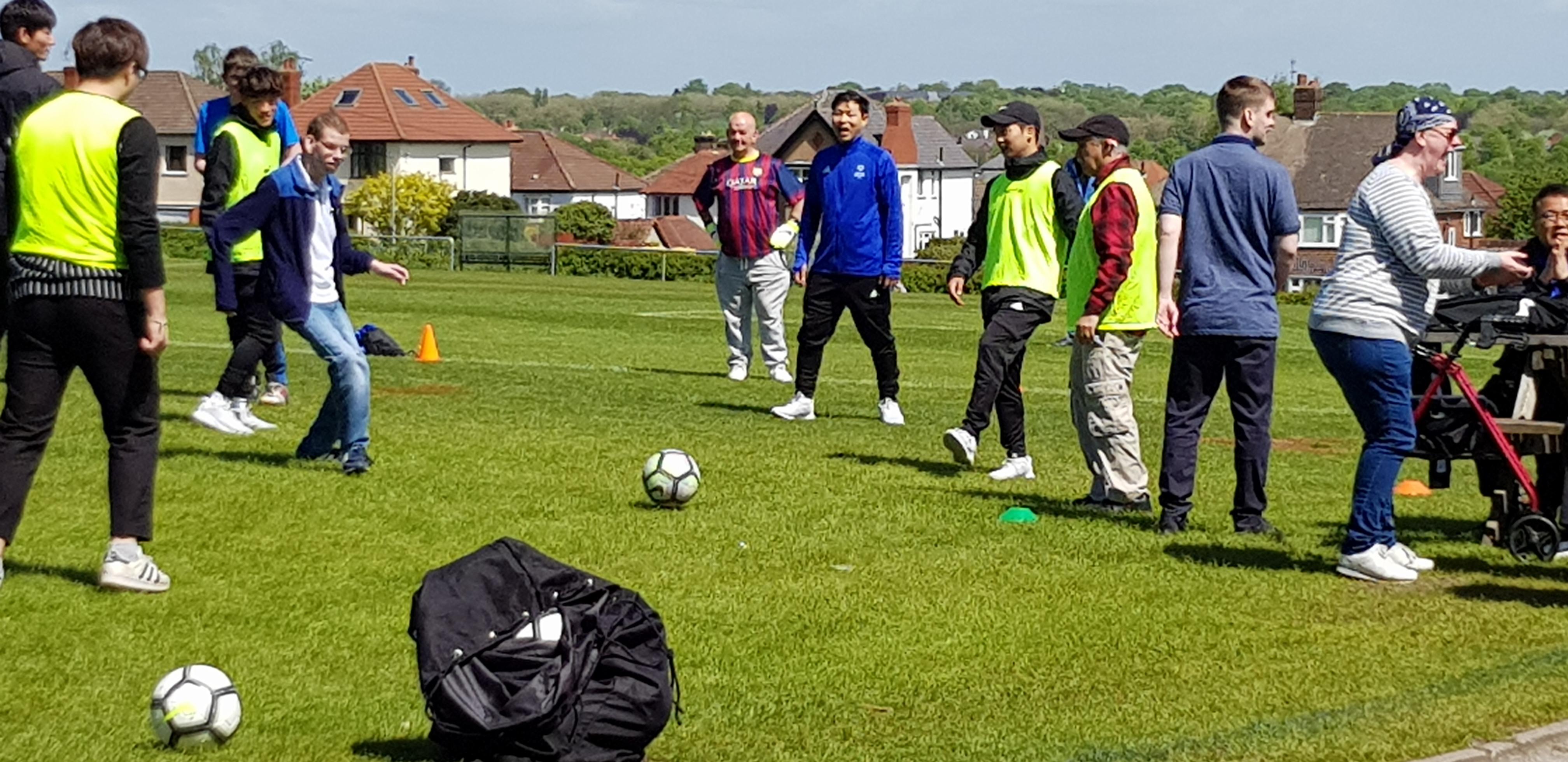 welcomekorean youth team
