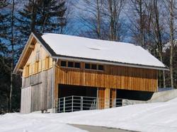 Hüttenstudio im Winter