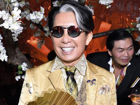Kenzo Takada Japanese-French Designer died from coronavirus at 81