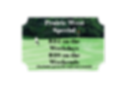 prairie west golf special coupon