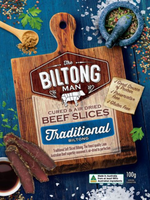 Traditional Biltong Packet