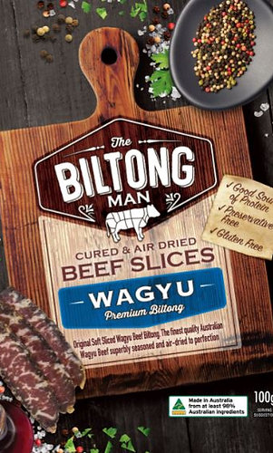Wagyu Biltong Packet - Traditional Flavour
