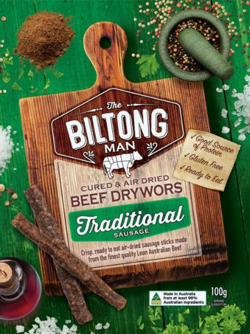 Beef Drywors Biltong Packet