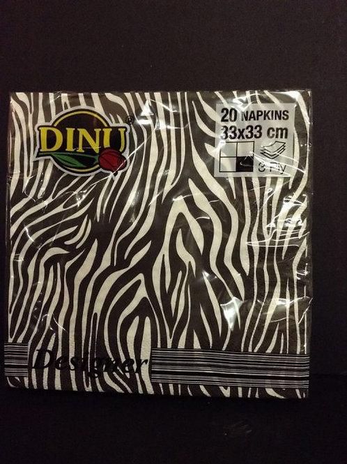 Dinu Designer Napkins Beautiful Africa  – 20 units