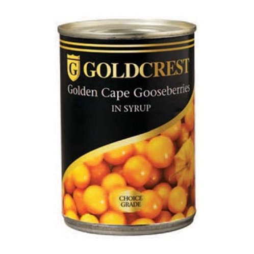 Goldcrest Golden Cape Goosberries in Syrup