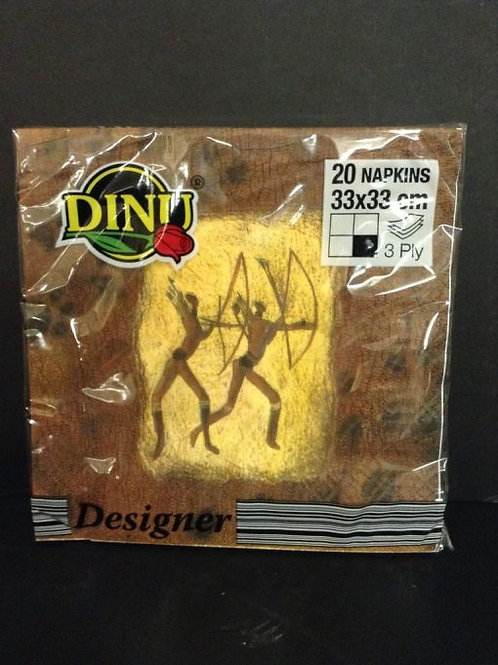 Dinu Designer Napkins Khoi San  – 20 units