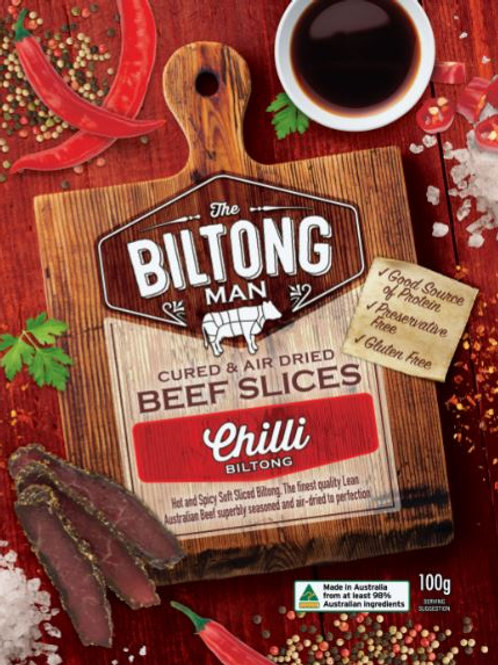 Chilli Biltong Packet