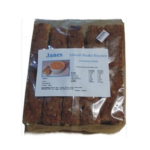 Jane's Rusks - Date & Macadamia 550g