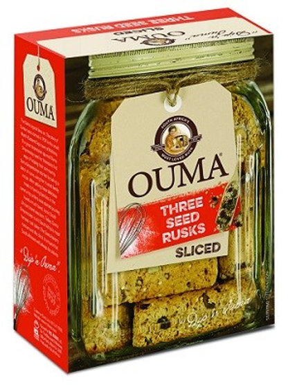 Ouma Three Seeds Rusks - Sliced 450g