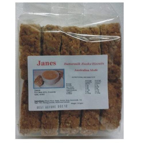 Jane's Rusks - Buttermilk 550g